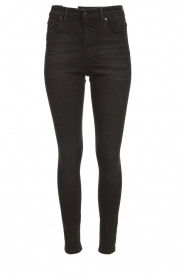 Lois Jeans |  Skinny high waist jeans Celia | black  | Picture 1