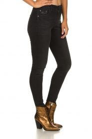 Lois Jeans |  Skinny high waist jeans Celia | black  | Picture 4