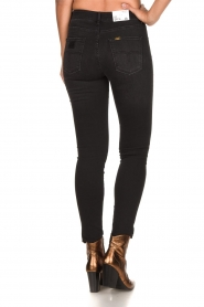 Lois Jeans |  Skinny high waist jeans Celia | black  | Picture 5