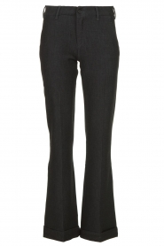 Lois Jeans |  L32 Trousers Silvia | black  | Picture 1