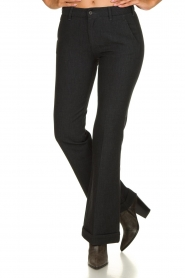 Lois Jeans |  L32 Trousers Silvia | black  | Picture 2