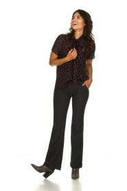 Lois Jeans |  L32 Trousers Silvia | black  | Picture 3
