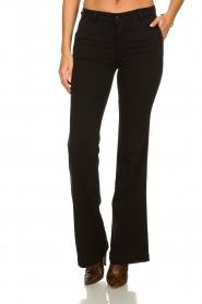 Lois Jeans |  Stretchy trousers Beruska L34 | black  | Picture 2