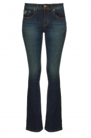 Lois Jeans |  L32 Flared jeans Melrose - Marconi dark wash | blue  | Picture 1