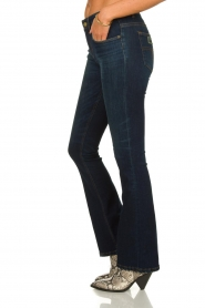 Lois Jeans |  L32 Flared jeans Melrose - Marconi dark wash | blue  | Picture 4