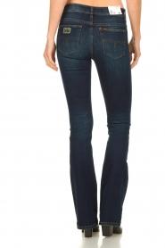 Lois Jeans |  L34 Flared jeans Melrose - Marconi dark wash | blue  | Picture 5