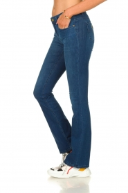 Lois Jeans |  L32 Flared jeans Melrose - Leia teal wash | blue  | Picture 3