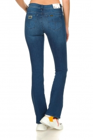 Lois Jeans |  L32 Flared jeans Melrose - Leia teal wash | blue  | Picture 4