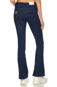 Lois Jeans |  L32 Flared jeans Melrose - Leia teal wash | dark blue  | Picture 5