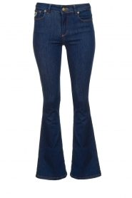 Lois Jeans |  L32 Flared jeans Melrose - Leia teal wash | dark blue  | Picture 1