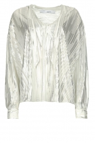 IRO |  Blouse with lurex Hathi | white  | Picture 1