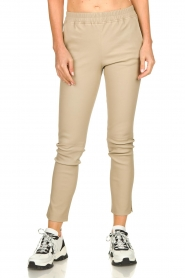 Arma |  Leather pants Chatou | natural  | Picture 2