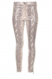 Arma |  Leather pants with snake print Cadiz | animal print  | Picture 1