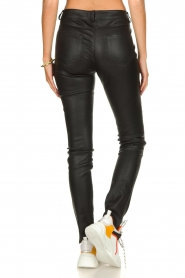 Arma |  Leather stretch pants Brandice | black  | Picture 5