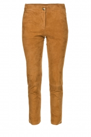 Arma | Suede pants Chinita | brown  | Picture 1