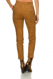 Arma : Suede pants Chinita | brown - img5