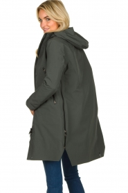 Krakatau |  Lined parka Urban chic | green  | Picture 6