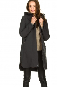 Krakatau |  Lined parka Urban chic | grey  | Picture 2