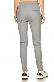 Est-Seven | Leather legging Amber | grey  | Picture 5