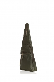 Est-Seven |  Leather shoulder bag Mirella | green  | Picture 3