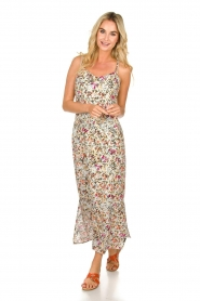 Aaiko |  Floral maxi dress Fiebe | mint green  | Picture 2