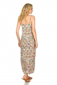 Aaiko |  Floral maxi dress Fiebe | mint green  | Picture 5