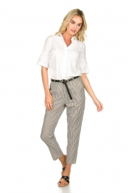 Aaiko |  Striped pants Agra | multi  | Picture 3