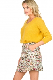 Aaiko    Floral skirt Delene   green    Picture 4