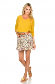 Aaiko    Floral skirt Delene   green    Picture 3