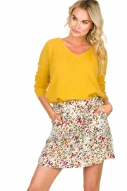 Aaiko    Floral skirt Delene   green    Picture 2