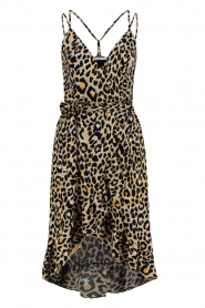 Aaiko |  Leopard printed dress Annika | natural  | Picture 1