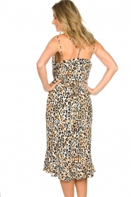 Aaiko |  Leopard printed dress Annika | natural  | Picture 6