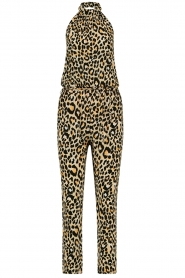 Aaiko |  Leopard printed jumpsuit Salita | natural  | Picture 1