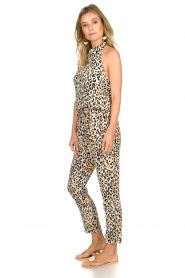 Aaiko |  Leopard printed jumpsuit Salita | natural  | Picture 4