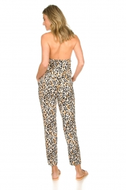 Aaiko |  Leopard printed jumpsuit Salita | natural  | Picture 5