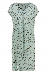 Aaiko |  Printed dress Madrid | blue  | Picture 1