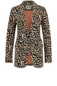 Aaiko |  Leopard printed blazer Adeline | natural  | Picture 1