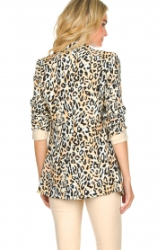 Aaiko |  Leopard printed blazer Adeline | natural  | Picture 5