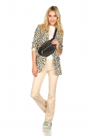 Aaiko |  Leopard printed blazer Adeline | natural  | Picture 3