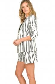 Aaiko    Striped blazer Cella   white     Picture 5