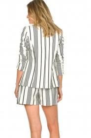 Aaiko    Striped blazer Cella   white     Picture 6