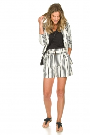 Aaiko    Striped blazer Cella   white     Picture 3