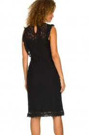 Aaiko |  Lace dress Lonne | black  | Picture 5