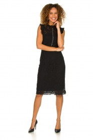 Aaiko    Lace dress Lonne   black    Picture 3