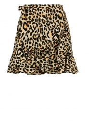 Aaiko |  Leopard printed skirt Salienta | natural  | Picture 1