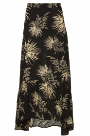 ba&sh | Skirt with print Edna | black  | Picture 1