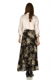 ba&sh | Skirt with print Edna | black  | Picture 4