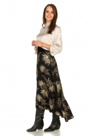 ba&sh | Skirt with print Edna | black  | Picture 3