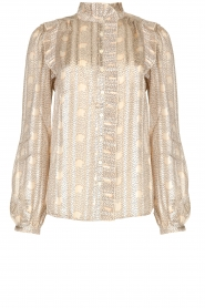 ba&sh |  Blouse with print Precious | beige  | Picture 1