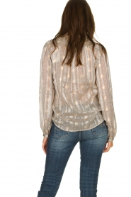 ba&sh |  Blouse with print Precious | beige  | Picture 5
